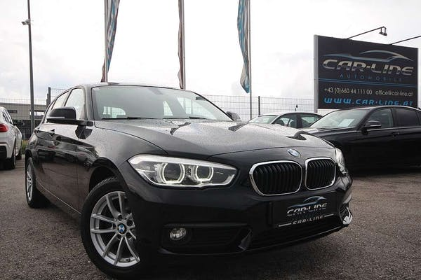 BMW 116 d Advantage Aut.|Navi|LED|Tempomat|Parksensor vorn bei Car-Line Automobile e.U. in